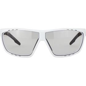 UVEX Sportstyle 706 V Glasses white/black mat/smoke